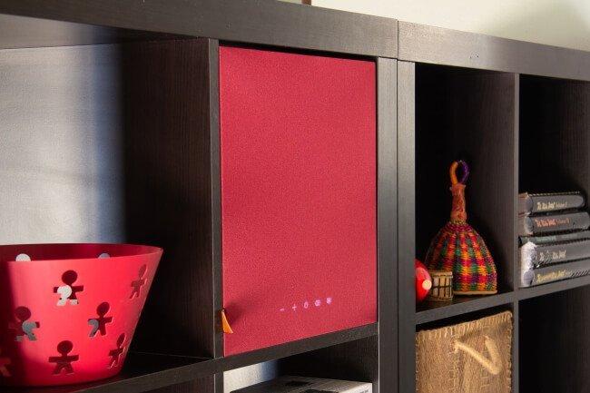Hogtalare in ikea shelf bluetooth speakers